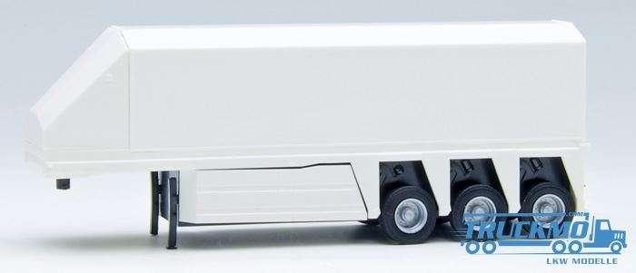 AWM Glastransporter 3achs mit Seitenverkleidung weiß 672005