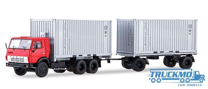 Start Scale Models KAMAZ-53212 Container-LKW mit Anhänger GKB-8350 83SSM7030