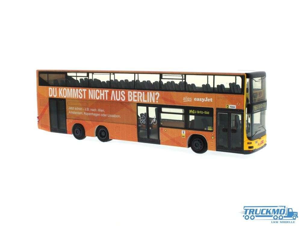Rietze BVG easyJet MAN Lions City DL07 67781