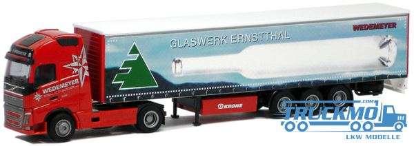 AWM Wedemeyer / Ernstthal Volvo FH12 XL Planen-Sattelzug 75217