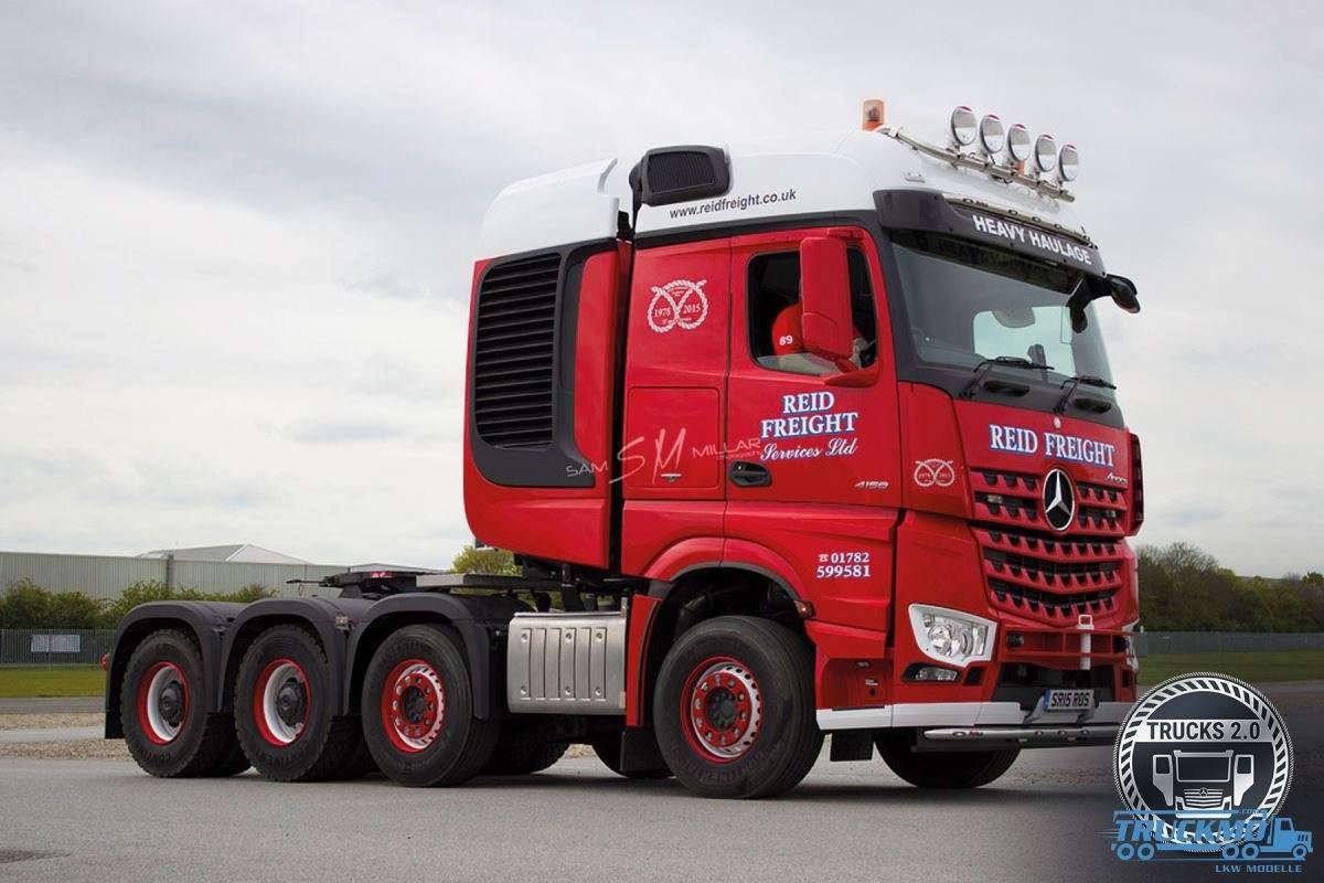 IMC Models Reid Freight Mercedes Benz Arocs 33-0133
