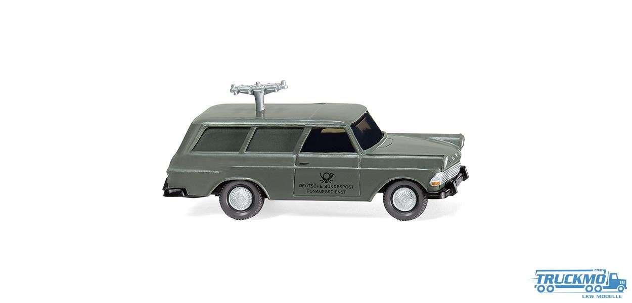 Wiking Fernmeldedienst Opel Rekord ´60 Caravan 007148