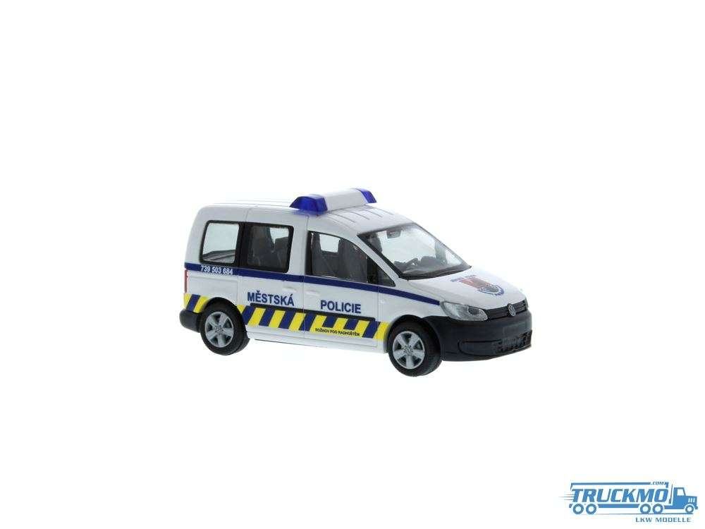 Rietze Mestska Policie Volkswagen Caddy Bus 11 52913
